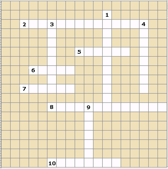 crossword for barcelona empty